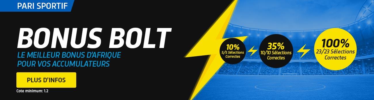 Bolt Bonus - Guinee Games