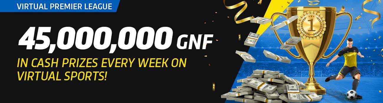Guinée Games Betting Bonus