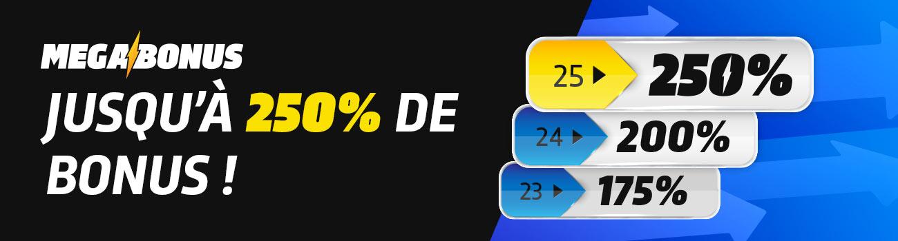 Guinée games - Pari Bonus